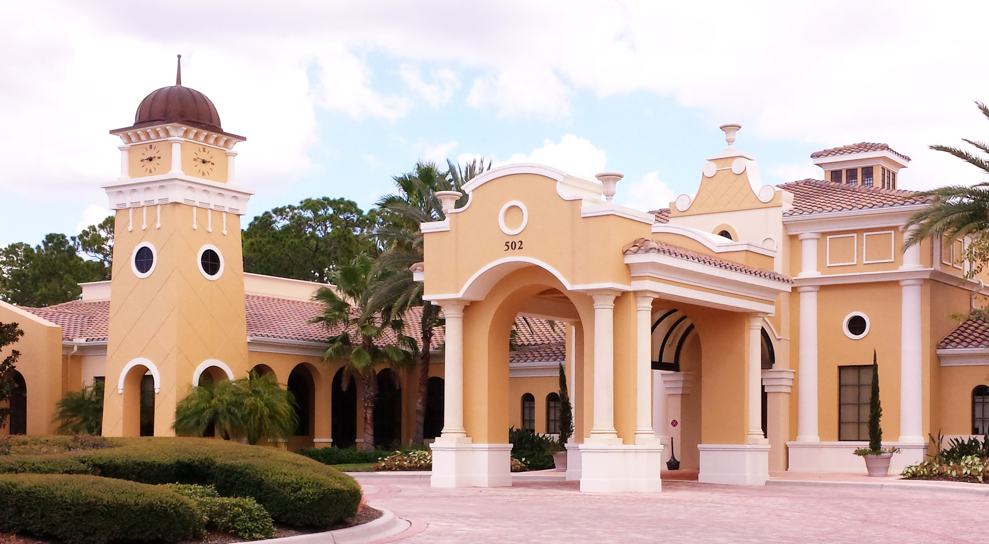 Venetian Golf and River Club ,Clubhouse with fine dining