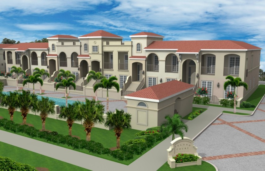 Living In Venice Fl : Island Court Venice Florida -Live an urban livestyle in a ...