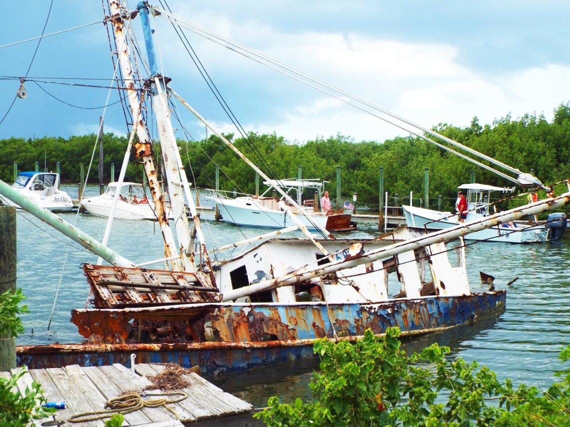 cape-haze-sunken-boat